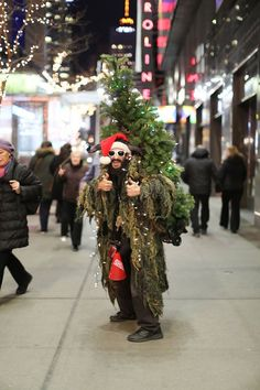 Brandon Stanton, Friday 5 December 2014. Stanton's project titled Humans of New York, portrays different people from all around New York City. This man is clearly comfortable being himself, saying that he 'only has five haters'. This picture is funky and fun, and not something that you see everyday, especially in Maine.
