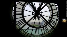 2015, week 38. Musée d'Orsay, Paris - Seen from behind the clock - France.  Picture taken: 2015, 06