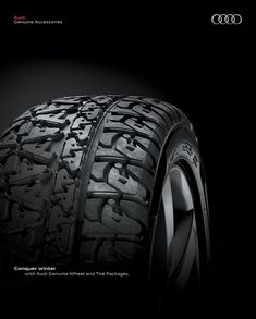 Love the detail in this #Audi Print #Advertisement for Wheel & Tire Packages