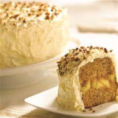 Apple Butter Anniversary Cake