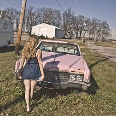 Cheap Trailers, Pink Trailer, Little Miss Perfect, Pink Cadillac, Miss America, Gas Station, Soft Grunge, Up Girl, Dream Life