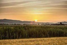 Un tramonto da mozzare il fiato in Maremma #maremma #toscana #portodellamaremma