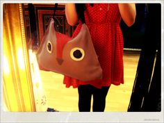 This is my Fox leather bag!  Find more Happy Thoughts accessories on my fb page facebook.com/happythoughts85