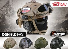 Airsoft Helmet, Airsoft Guns, Tactical Life, Tactical Gear, Taktischer Helm, Airsoft Ideas, Fast Helmet, Chihuahua Mexico, Military Gear