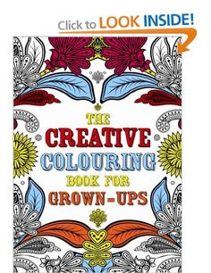 The Creative Colouring Book For Grown Ups Michael OMara Books 9781843178699