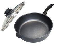 """Swiss Diamond Nonstick Saute Pan with Lid - 3.2 qt (10"""") - http://cookware.everythingreviews.net/11316/swiss-diamond-nonstick-saute-pan-with-lid-3-2-qt-10.html"""