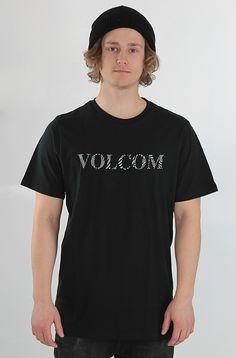 Volcom Sliced t-paita Black 24,90 € www.dropinmarket.com