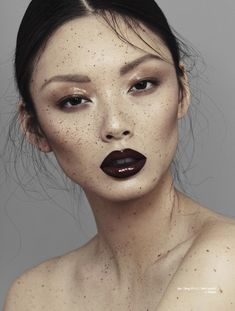 Freckled Muse Photography - The Speckled Beauty Story for Chloe Magazine Celebrates Imperfections (GALLERY)