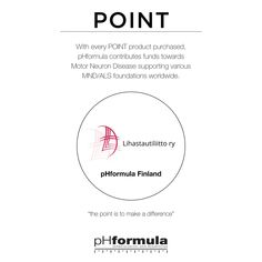 This week we would like to thank our pHformula team in Finland who chose to work with the Finnish Neuromuscular Disorder Association, participating in the Association's activities, with product donations, pampering treatments and introducing pHformula to the charity project.  #makeadifference #POINT Motor Neuron, Neurons, Finland, Disorders, Charity, Foundation, Activities, How To Make, Nerve Cells