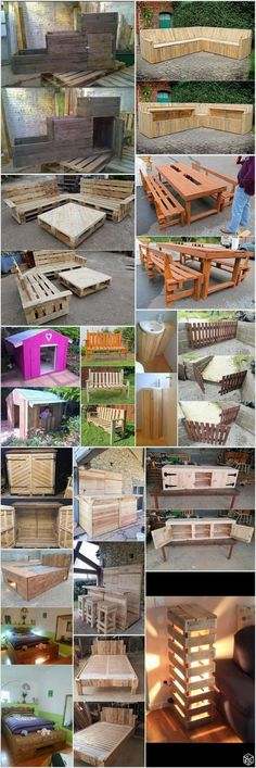 Innovative Ideas to Recycle Old Wood Pallets
