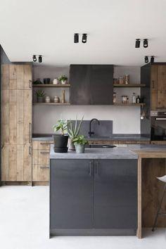 Home Decor Kitchen .Home Decor Kitchen Industrial Kitchen Design, Interior Design Kitchen, Kitchen Cabinet Design, Home Decor Kitchen, New Kitchen, Home Kitchens, Dutch Kitchen, Modern Kitchens, Küchen Design