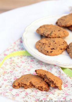 Nem acredito que é saudável!: Bolachas de courgete e limão (Vegan). Zucchini lemon cookies (vegan)