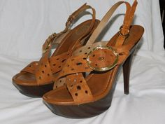 849be4030860 Extra Off Coupon So Cheap Jessica Simpson Women s Open Toe Faux-Suede Sandals  with Gold Buckle size 10 Tan