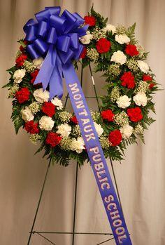 A Wreath for Montaux Public School