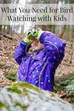 Bird watching is a great hobby for both kids and adults and requires very little equipment. Here is a list of What You Need for Bird Watching with Kids.