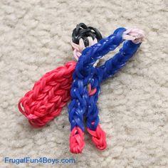 Rainbow Loom Superhero Flingers - Frugal Fun For Boys