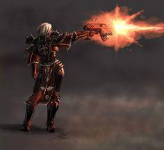 Sister of Battle Artwork