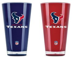 Houston Texans Tumblers Set of Two 20oz