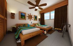 Golf Residences bedroom...