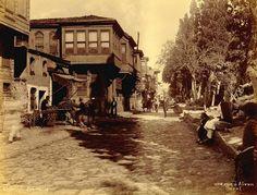 Ayvansaray. 19 yüzyıl sonları.  Abdullah Fréres fotoğrafı
