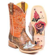 Tin Haul Women's Ink'd Western Boots