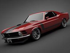A toda potencia...1970 Ford Mustang Boss 302