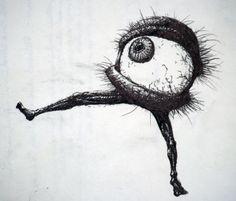 Friday's Hairy Eyeball -Takashi Murakami