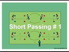 Soccer Pass And Move Drills For Practice - YouTube