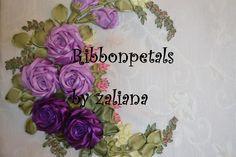 I ❤ ribbonwork . . . ~By Zaliana, Ribbon Petals
