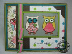 Okieladybug's Scrap N' More: Stampin Up Owl Punch Card