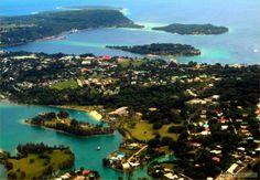 vanuatu port vila | Photo Port-Vila capitale du VANUATU sur l'île d'EF (...) - VANUATU ...