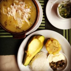 Good ideas for typical Colombian food.