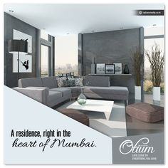 #RajhansOtium - A residence, right in the heart of #Mumbai. For more detail: http://www.rajhansrealty.co.in/otium.html