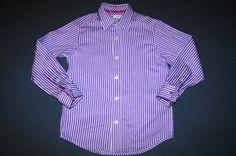 Marks&Spencer Hemd - elegant Farbe : lila-weiß Gr. 122 (7 Jahr) 12,00 €