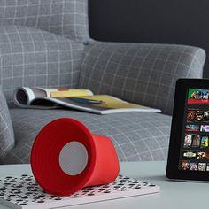 Plus Bluetooth Speaker - Red - by KAKKOii #MONOQI