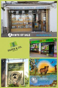 Points of sale www.bicadeideias.com Papers Co, My Children, My Books, Journey, America, Parrot Bird, My Boys, The Journey, Usa