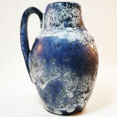 Fat Lave Vase • Scheurich 414 • West German Pottery • Perfect condtion!