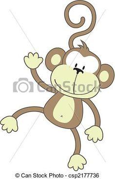 draw a monkey easy - Google Search