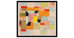 A brilliant reproduction of the 1921 work by Swiss-born German artist Paul Klee…