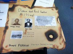 4th grade California landmark project - Donner Pass