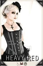 Yep, this will be my next corset! <3 ANATOMY OF DISTINCTION EPIC NOIR CORSET