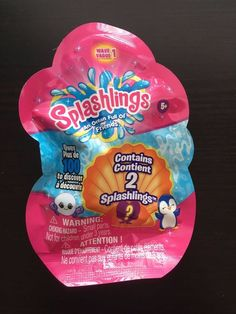NEW! Splashlings 2 Pack - SEALED BLIND BAG! - Wave 1 ~ Mystery ~ #TPFToys