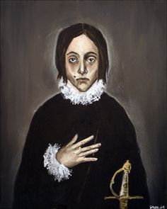 Julius after El Greco by Dana Redde