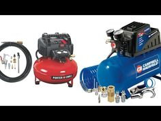 Best Small Air Compressors 2017 https://youtu.be/_-YVCllMfTs