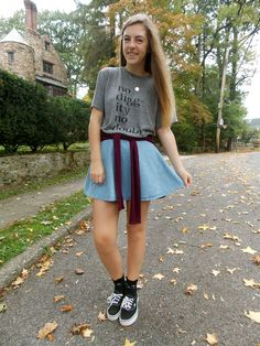 skirt with vans - Google Search