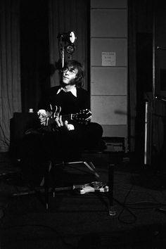 John in the studio, 1968