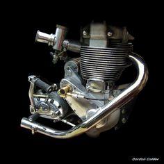 NO 10: CLASSIC BSA GOLD STAR MOTORCYCLE ENGINE by Gordon Calder, via Flickr
