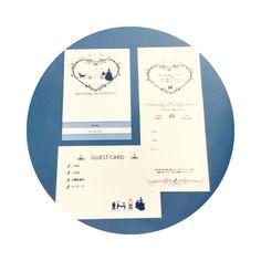 芳名帳の代わり!招待状と一緒に送るゲストカードが良いことづくめ! | marry[マリー]