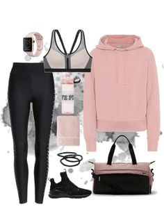 Ideas for sport outfit gym fashion leggings Nike Outfits, Cute Workout Outfits, Fitness Outfits, Workout Attire, Teen Fashion Outfits, College Outfits, Workout Wear, Fitness Fashion, Sport Outfits
