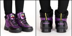 Fashion Quilted Waterproof Lace-Up Ankle Winter Boots 4 Colors